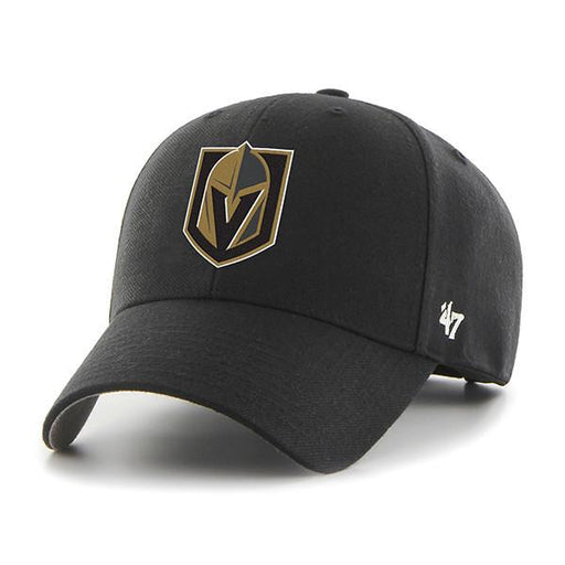 Vegas Golden Knights Hockey MVP Hat (Black 47 Brand) - Pastime Sports & Games
