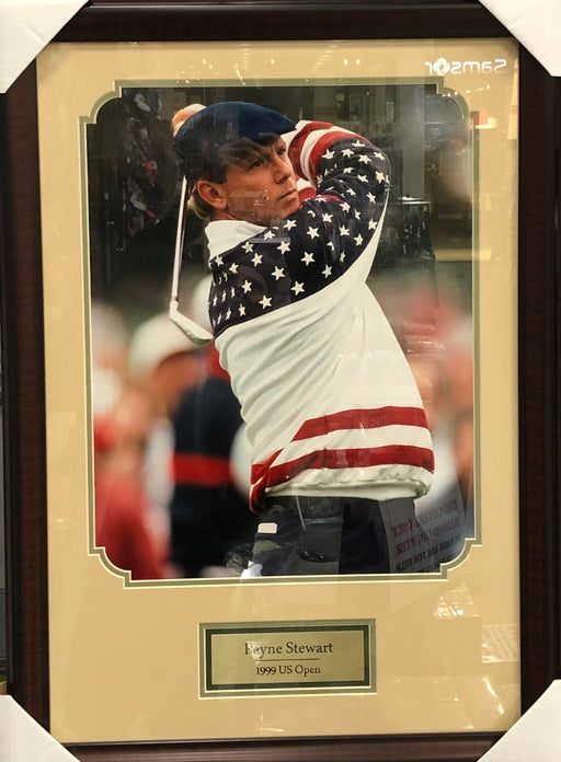 Payne Stewart Framed Photo - 1999 US Open - Pastime Sports & Games