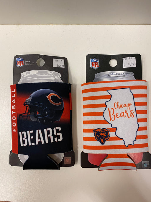 Chicago Bears Can Koozie - Pastime Sports & Games