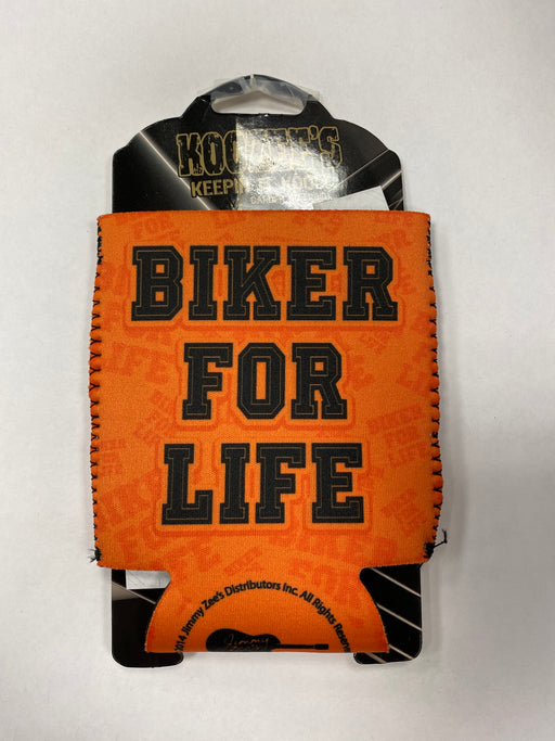 Biker For Life Can Koozie - Pastime Sports & Games