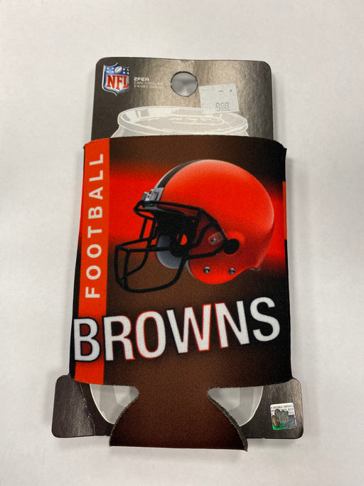Cleveland Browns Can Koozie - Pastime Sports & Games