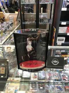 Michael Jordan Autographed Chicago Bulls Game Used Floor 79/100 - Pastime Sports & Games