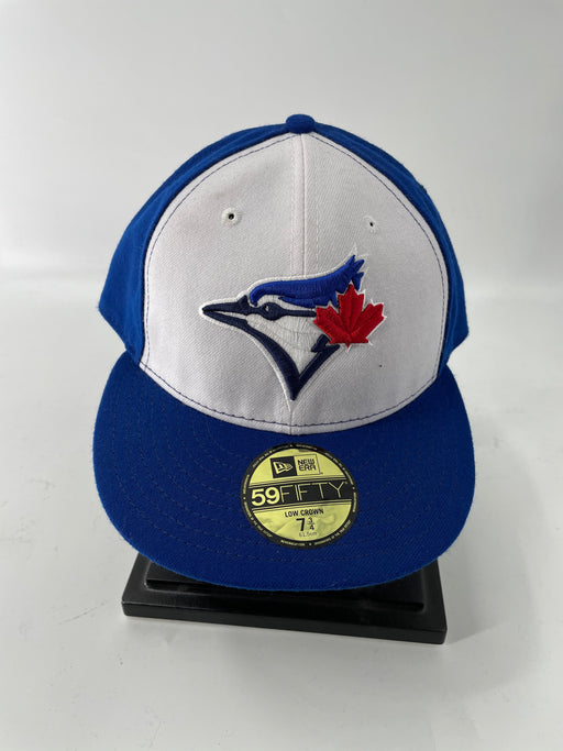 MLB Toronto Blue Jays White And Blue Hat - Pastime Sports & Games