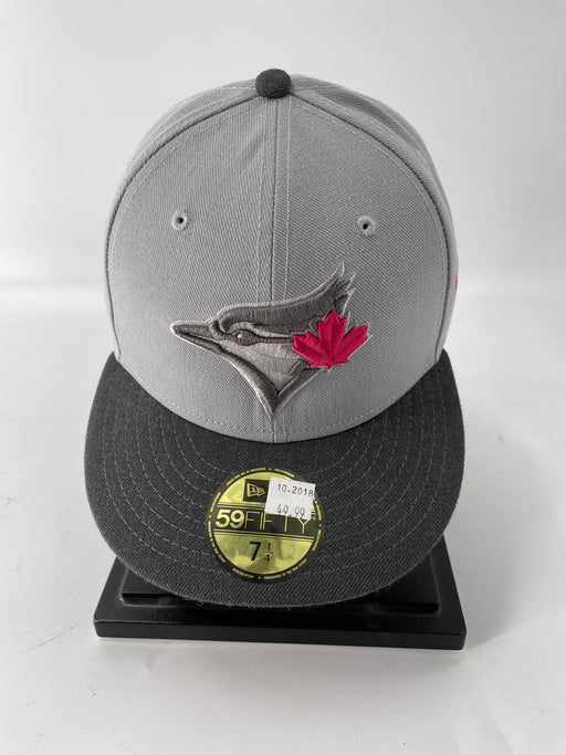 MLB Toronto Blue Jays Grey And Pink Logo Hat - Pastime Sports & Games