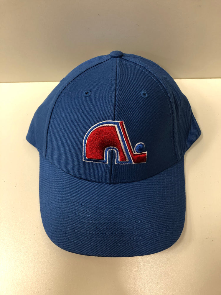 NHL Quebec Nordiques Blue Hat Osfa - Pastime Sports & Games