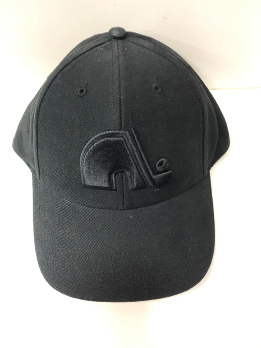 NHL Quebec Nordiques Black Hat Osfa - Pastime Sports & Games