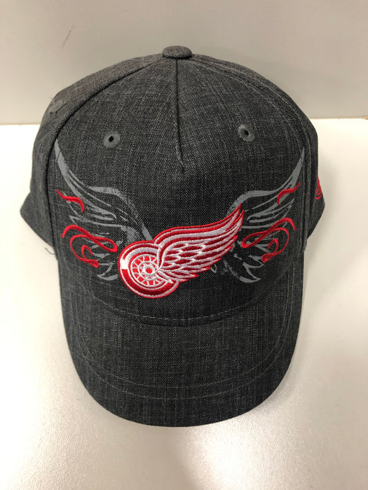 NHL Detroit Red Wings Ladies Grey Hat - Pastime Sports & Games