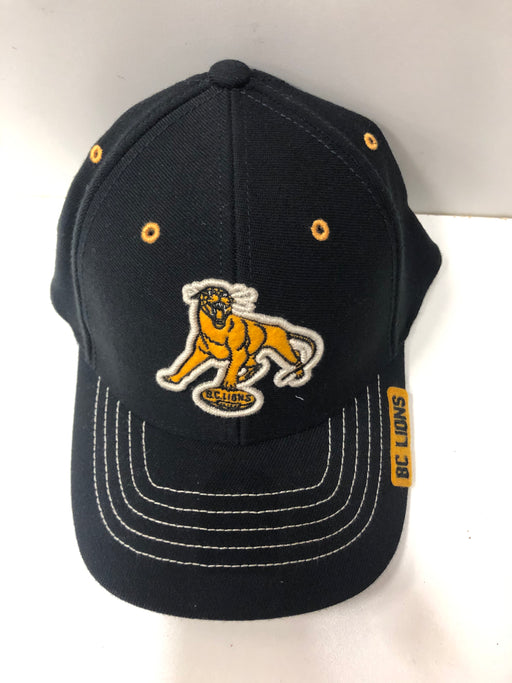CFL BC Lions Black Hat Lion Logo - Pastime Sports & Games