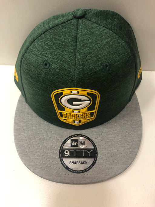 Green Bay Packers Football 2018 Sideline Road 950 Hat (Green New Era) - Pastime Sports & Games