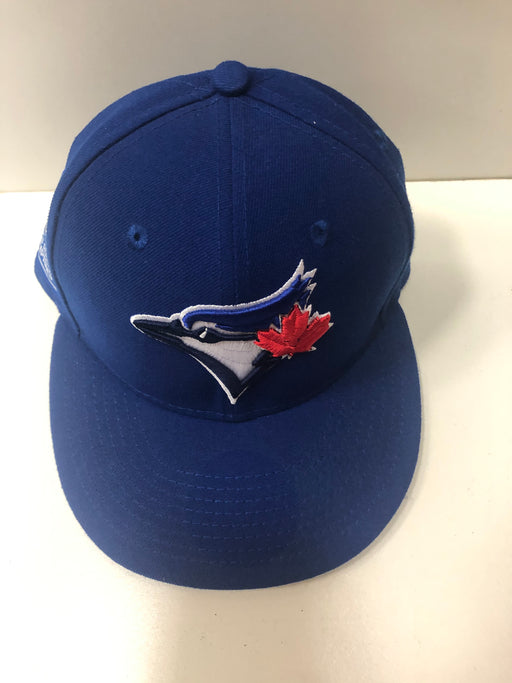 MLB Toronto Blue Jays Blue Hat Flat Brim - Pastime Sports & Games
