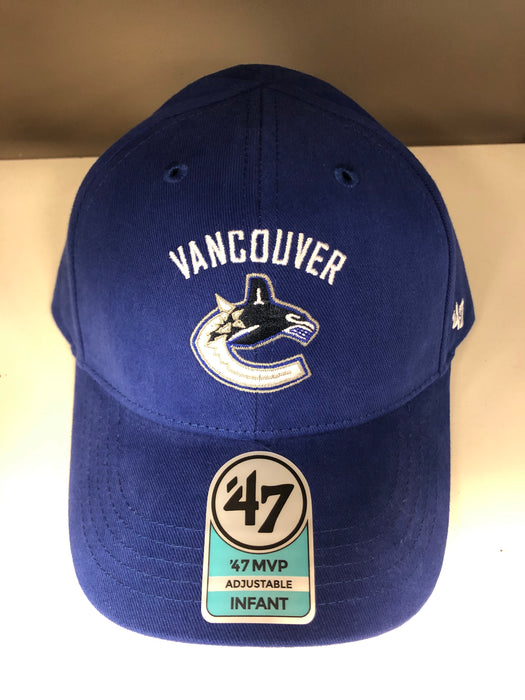 NHL Vancouver Canucks Infant Orca Logo Hat - Pastime Sports & Games