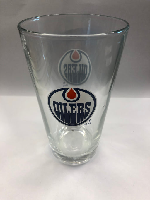 NHL Edmonton Oilers Drinking Glass - Pastime Sports & Games