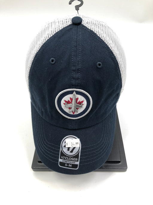Winnipeg Jets Hockey Closer  Hat (Navy 47 Brand) - Pastime Sports & Games