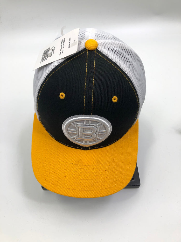 NHL Boston Bruins Yellow brim Hat - Pastime Sports & Games