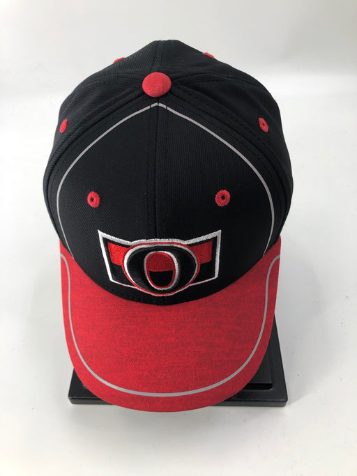NHL Ottawa Senators Hockey Stretch Hat (Black Adidas) - Pastime Sports & Games
