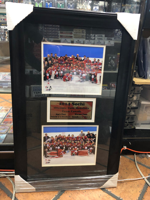 2014 Sochi Olympic Gold Medalists Team Canada Matted Photo - Pastime Sports & Games