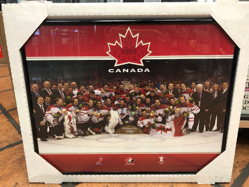 Team Canada 2010 Olympics Framed Photo - Pastime Sports & Games