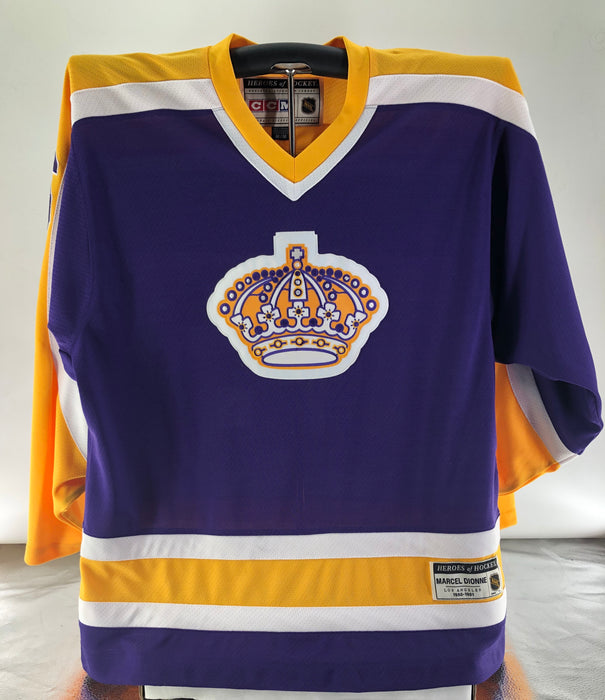 Marcel Dionne CCM Mens Purple Hockey Jersey - Pastime Sports & Games