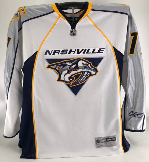 David Legwand Autographed Nashville Predators Away Jersey Reebok - Pastime Sports & Games