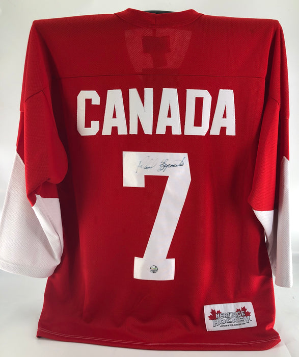 Phil Esposito Autographed Team Canada Jersey - Pastime Sports & Games