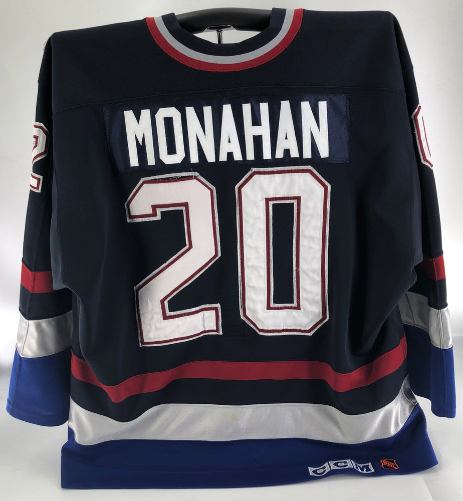 Garry Monahan Game Worn Vancouver Canucks Alumni Jersey CCM - Pastime Sports & Games