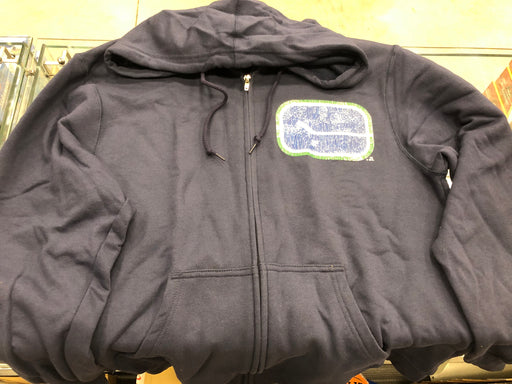 NHL Vancouver Canucks Stick Logo Zip Up Sweater - Pastime Sports & Games