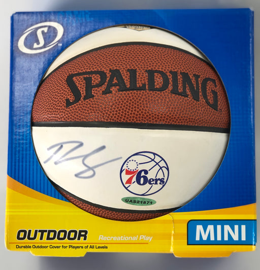 Ben Simmons Mini Basketball Autographed Basketball - Pastime Sports & Games