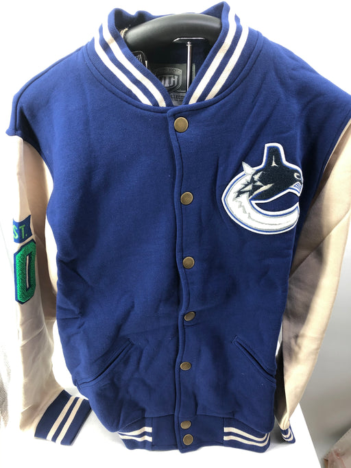 NHL Vancouver Canucks Mens Varsity Jacket - Pastime Sports & Games