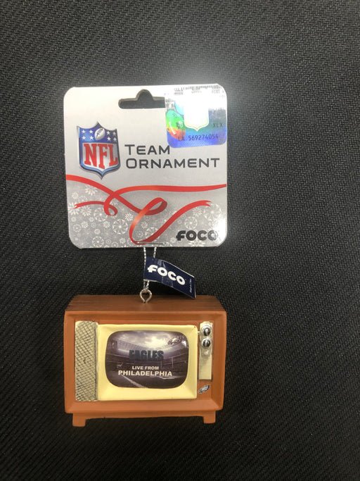 Philadelphia Eagles Retro T.V. Ornament