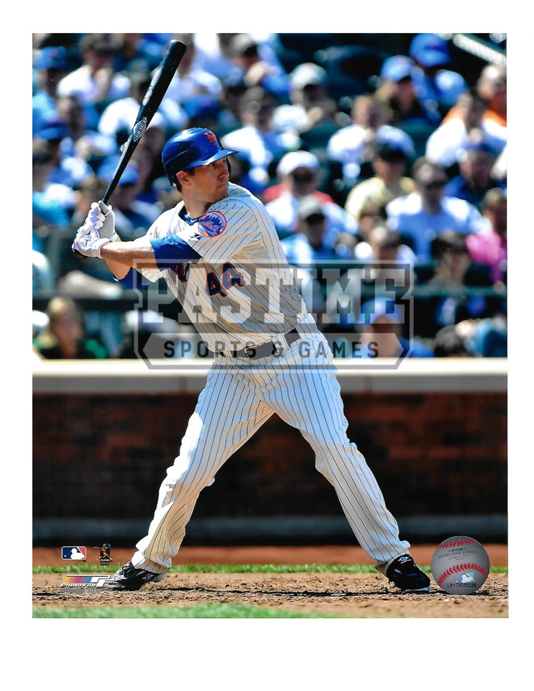 Jason Bay 8X10 New York Mets (At Bat) - Pastime Sports & Games