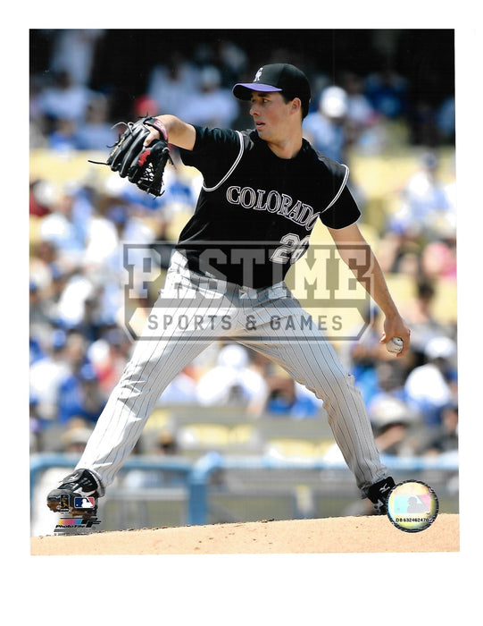 Jeff Francis 8X10 Colorado Rockies (Pitching) - Pastime Sports & Games