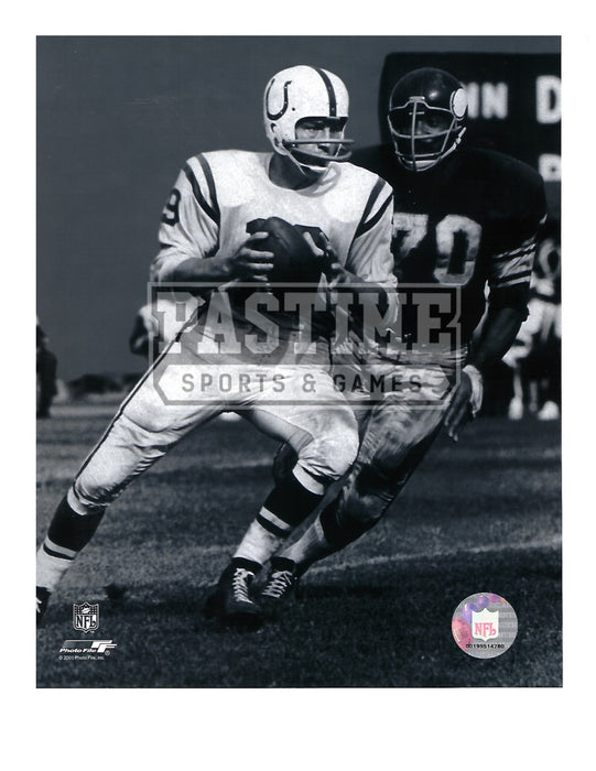 Johnny Unitas 8X10 Indianapolis Colts (In Position) - Pastime Sports & Games