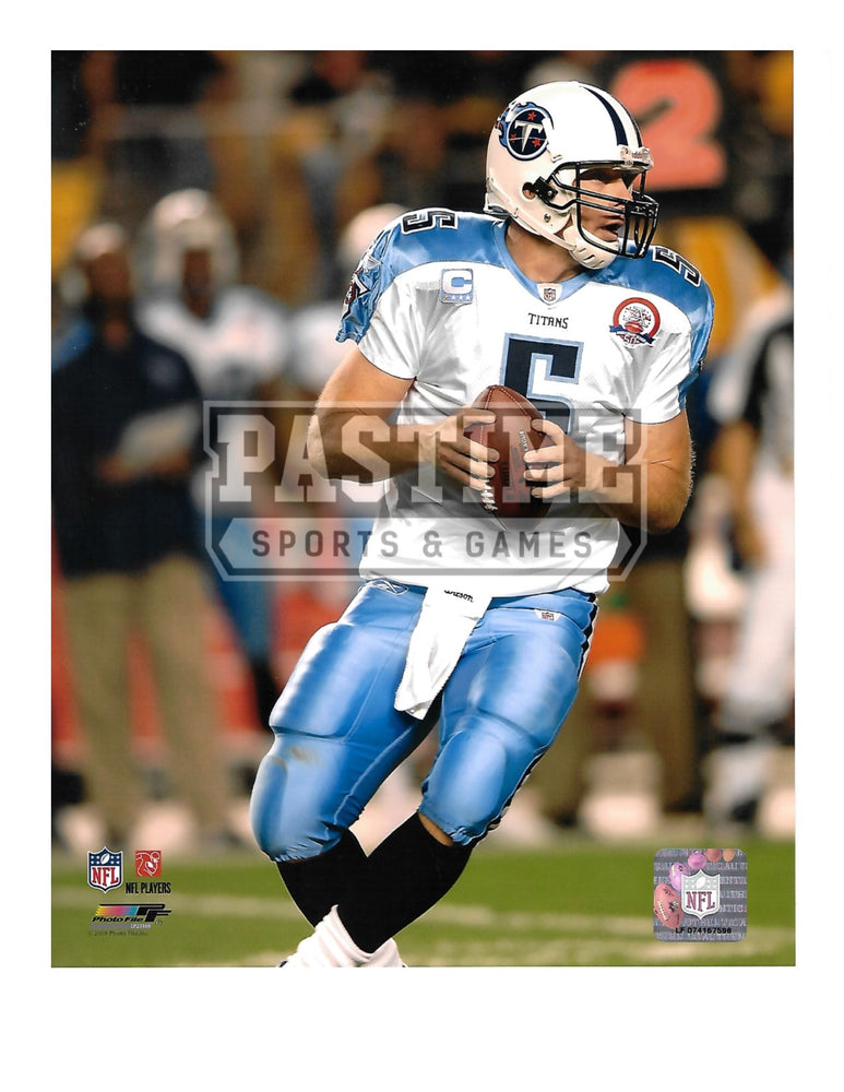 Kerry Collins 8X10 Tennessee Titans (Ready To Throw The Ball) - Pastime Sports & Games
