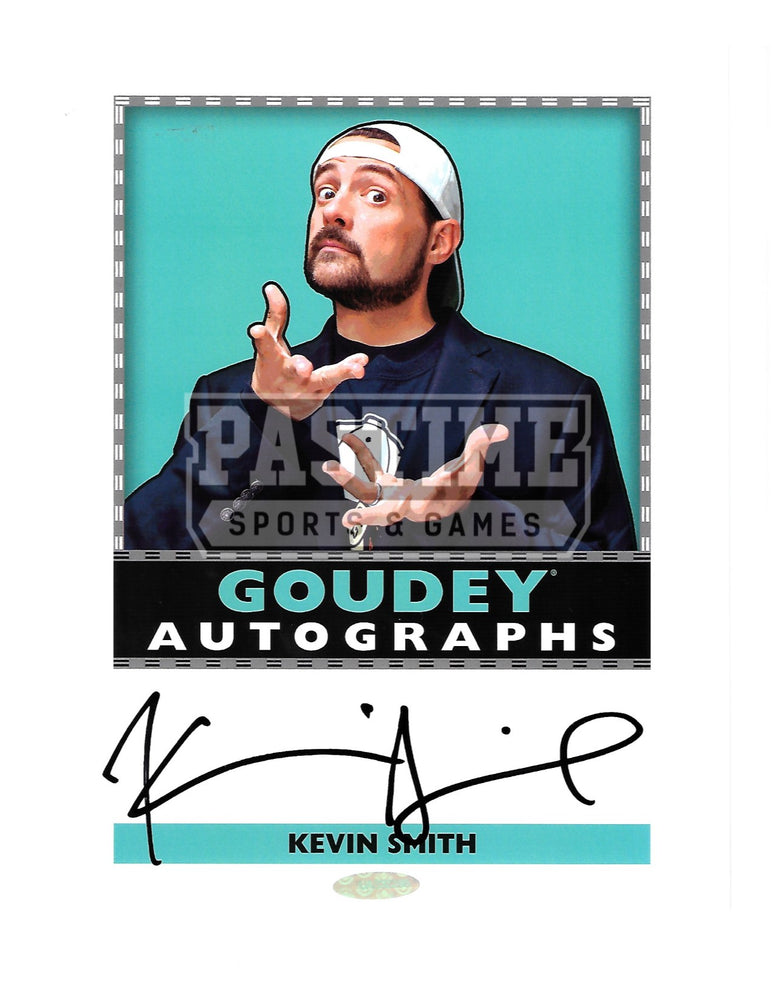 Kevin Smith Autographed 8X10 Celebrity (Goudey Autographs) - Pastime Sports & Games