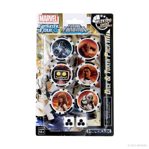Heroclix Marvel Fantastic Four Future Foundation Dice & Token Pack - Pastime Sports & Games