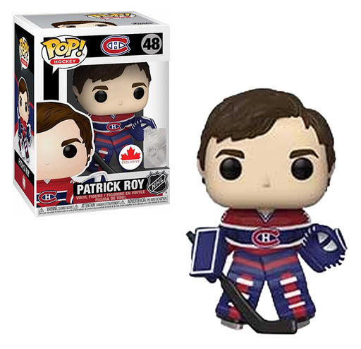 Funko Pop! Hockey Montreal Canadians Patrick Roy #48 - Pastime Sports & Games