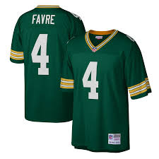 Brett Favre Green Bay Packers Football Vintage Jersey Mitchell & Ness - Pastime Sports & Games