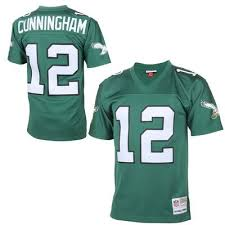 Randall Cunningham Philadelphia Eagles Football Jersey Mitchell & Ness - Pastime Sports & Games