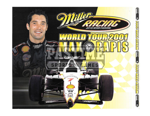 Max Papis 8X10 Racing (Photo Montage) - Pastime Sports & Games
