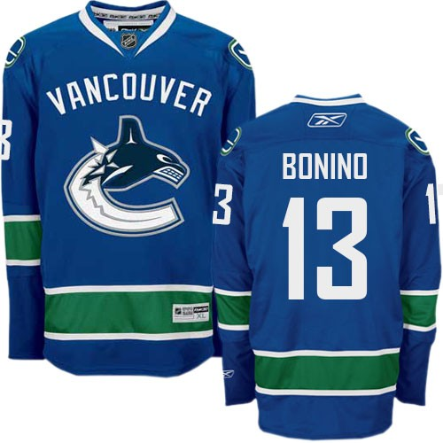 Nick Bonino Vancouver Canucks Home Jersey Reebok - Pastime Sports & Games
