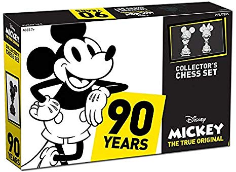 Mickey Mouse True Original Collector's Chess Set