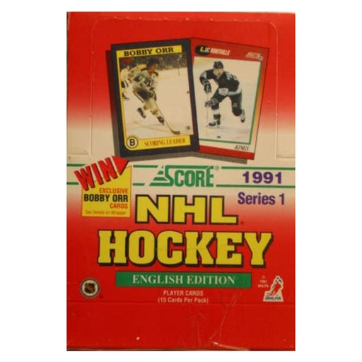 1991 Score Series One English Edition Hockey Hobby - Pastime Sports & Games