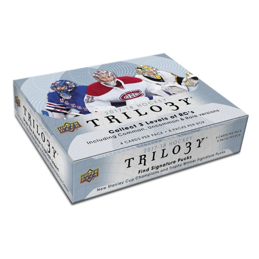 2017/18 Upper Deck Trilogy Hockey Hobby - Pastime Sports & Games