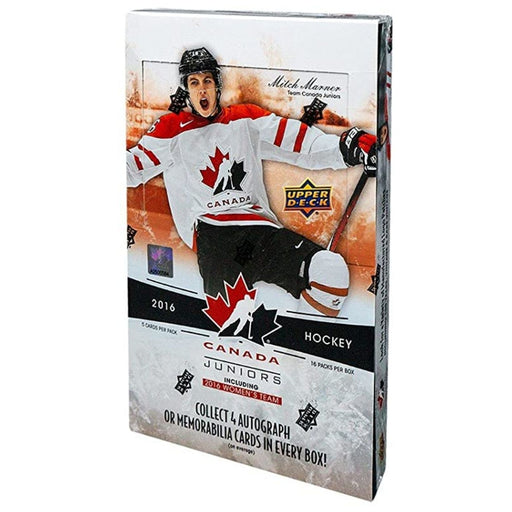 2016 Upper Deck Team Canada Hockey Hobby - Pastime Sports & Games