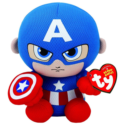 Ty Original Beanie Babies Marvel Captain America - Pastime Sports & Games