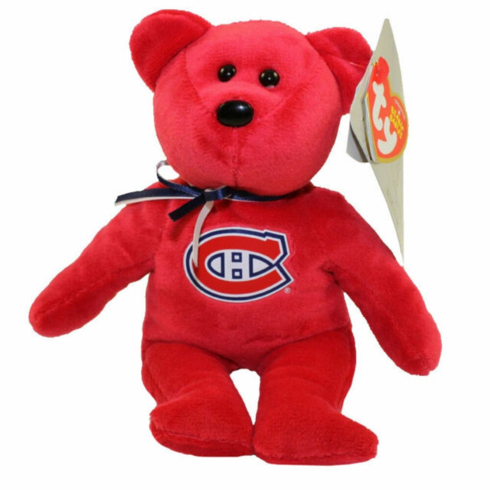 Ty Original Beanie Babies Montreal Canadiens - Pastime Sports & Games