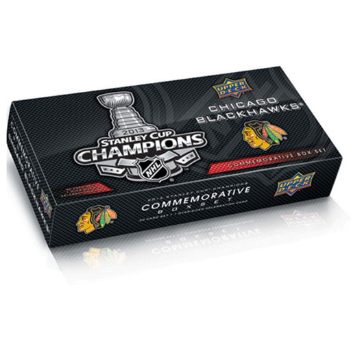 2013 Upper Deck Chicago Blackhawks Stanley Cup Champion Commemorative Box Set - Pastime Sports & Games
