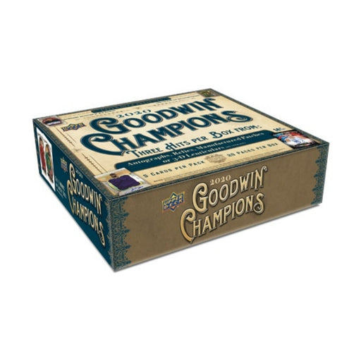 2020 Upper Deck Goodwin Champions Hobby - Pastime Sports & Games
