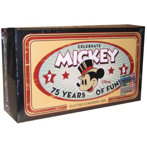 Disney Mickey Mouse 75 Years of Film Cards - Pastime Sports & Games