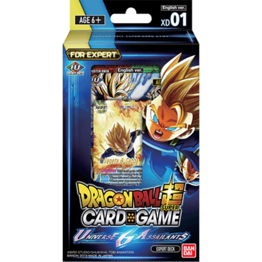 Dragon Ball Super Universe 6 Assailants Expert Deck - Pastime Sports & Games